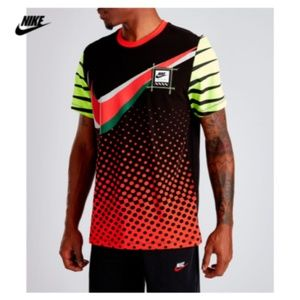New Nike Men's Gel Retro Future Tee Short Sleeve